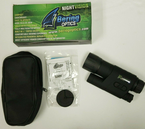 Bering Optics BE14040 Wake2 2.5x40 Gen I Night Vision Monocular Built in IR. NEW