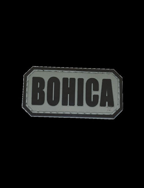 "Five Star Gear PVC Morale Patch Style 6703 BOHICA size 2"" x 1"""