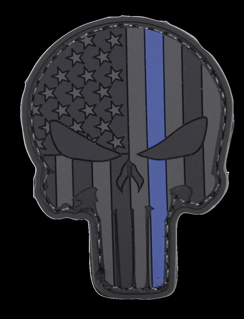 """Five Star Gear PVC Morale Patch Style 6654 LE PUNISHER size 1.75"""" x 2.25"""""""
