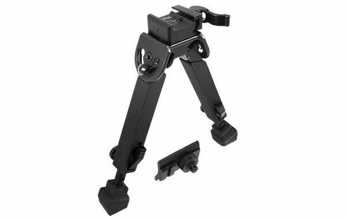 "NEW UTG Quick Detach Bipod Rubber Armored Metal Center Ht: 6""-8.5""  TL-BP20Q-A"