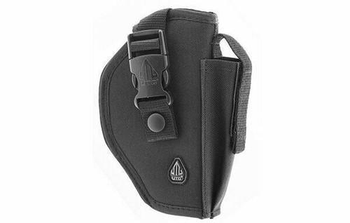 UTG Tactical Belt Holster, RIGHT-HANDED, Black PVC-H270B