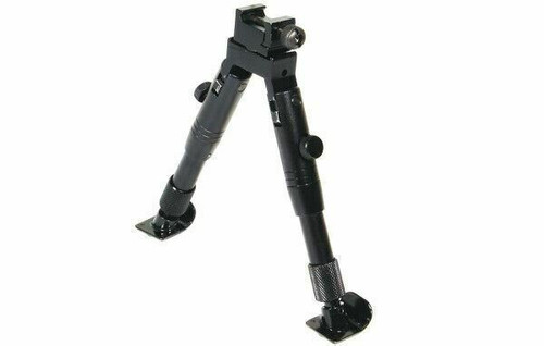 "UTG SWAT Bipod, Steel Feet, Height 5.8""-6.8"" TL-BP28ST"