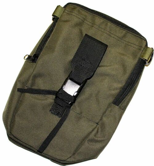 AN/PVS-7 PVS-14 6015 Night Vision OD Green Soft Carry Case Bag w/ Shoulder Strap