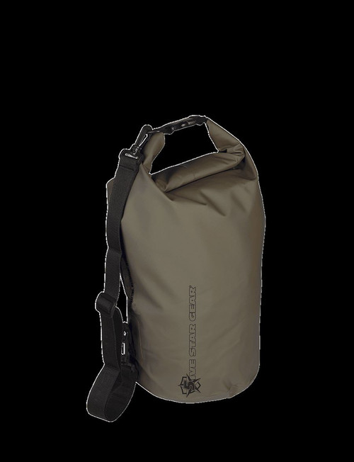 "Five Star Gear RIVER'S EDGE 6L WATERPROOF DRY BAG  6""D (15cm) x 14""H (35cm) 4760"