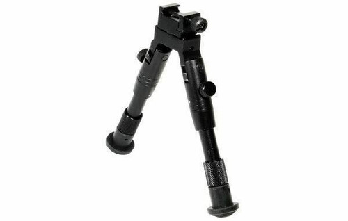 "UTG  SWAT Bipod, Rubber Feet, Height 6.2""-6.7"" TL-BP28S"