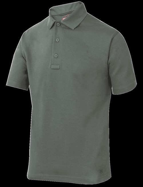 TRU-SPEC 24-7 Series® MEN'S ORIGINAL SHORT SLEEVE POLO Style CLASSIC GREEN LARGE