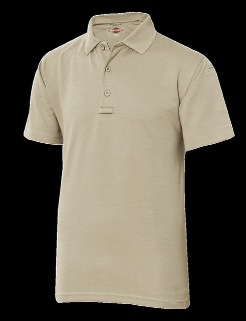 TRU-SPEC 24-7 Series® MEN'S ORIGINAL SHORT SLEEVE POLO Style CLASSIC TAN XS