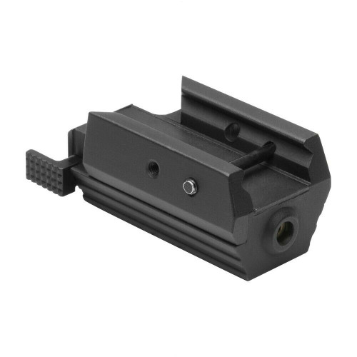 NcSTAR AAPRLS Compact Aluminum Pistol Red Laser Rail Mounted