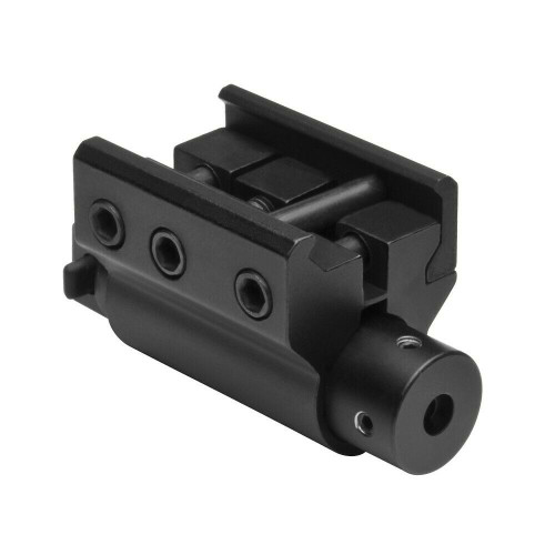 NCSTAR APRLS Aluminum Red Laser With Weaver / Picatinny Style Mount Black