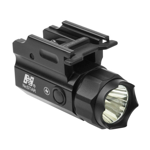 NcSTAR ACQPTF 150 Lumen  Cree LED Compact FlashLight QR Strobe Pistol Mounted
