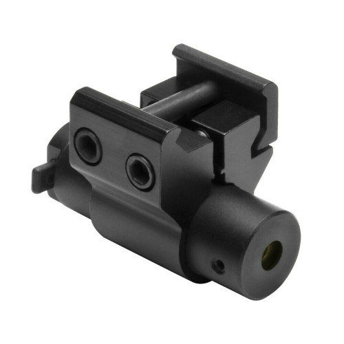 NcSTAR ACPRLS  Aluminum Compact Red Laser with Weaver Mount for Pistol