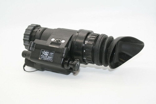 AGM PVS-14 3NW Night Vision Monocular Gen 3 White Phosphor with Manual Gain