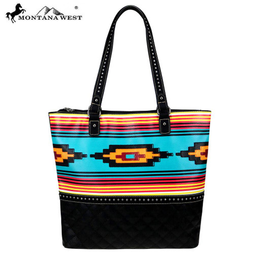 b156dc9a0192b Quilted Montana West Aztec Native American Tote bag ...
