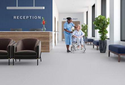 Loose Lay Safety Flooring From Polyflor - Polysafe Quicklay