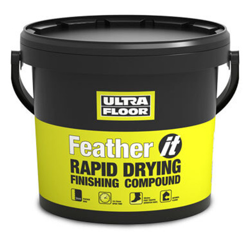 Ultra Floor Feather it Rapid Drying Compound 5Kg