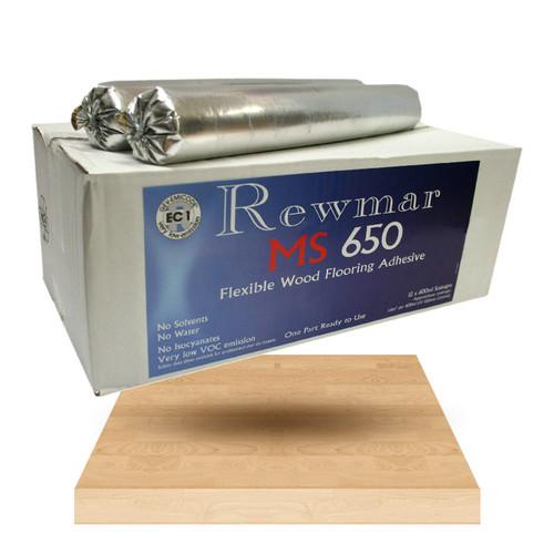 Rewmar MS650 Sausage Flexible Wood Adhesive