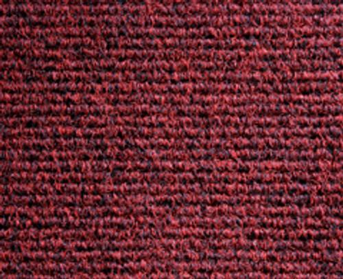 Heckmondwike Broadrib Carpet Tiles Claret