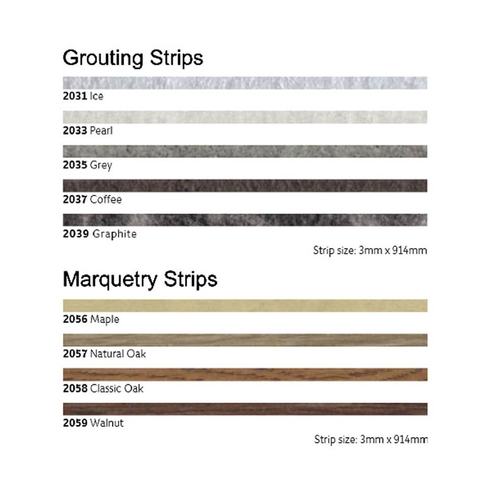 Polyflor Grouting Strips
