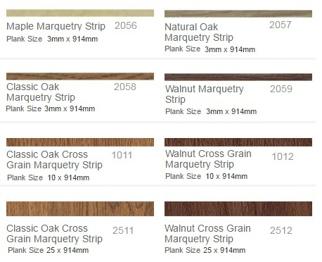 Polyflor Marquetry Strips