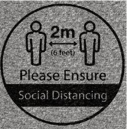 Social Distance Tiles
