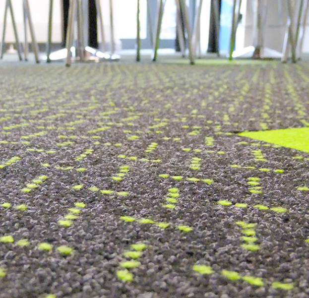 Rawson Laser light & Neon Carpet Tiles