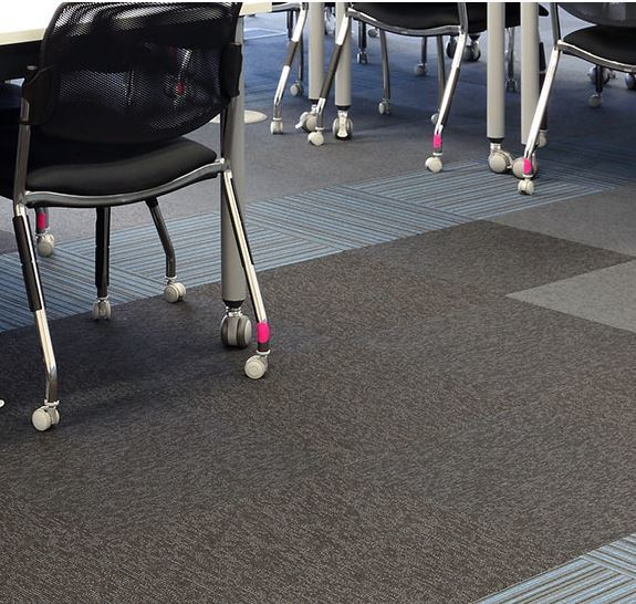 Burmatex Balance Stripe Carpet Tiles