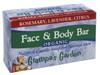 Organic Face & Body Bar - Natural Castile Soap for Normal Skin