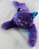 Kitty Kuddles - Purple with Galaxy Belly and Ears - Kitty, Therapy animals, Foster kittens