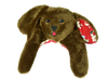 Brown Microwavable Puppy Hugs for Hot or Cold Therapy