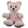 Heatable Pink Thera Bear Weighted Stuffed Animal