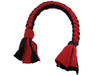 Interactive and Durable Tug N' Pull Rope Toy Red and Black Finish from Grampa's Garden