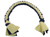 Interactive and Durable Tug N' Pull Rope Toy Yellow and Navy Finish from Grampa's Garden