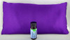 Purple Satin Sleepy Time Pillow