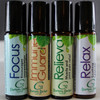 Rollerball Essential Oil Blends for Springs and Summer by Grampa's Garden Made in Maine USA