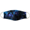 Galaxy (Stars, Universe, Space) Face Mask with earloop