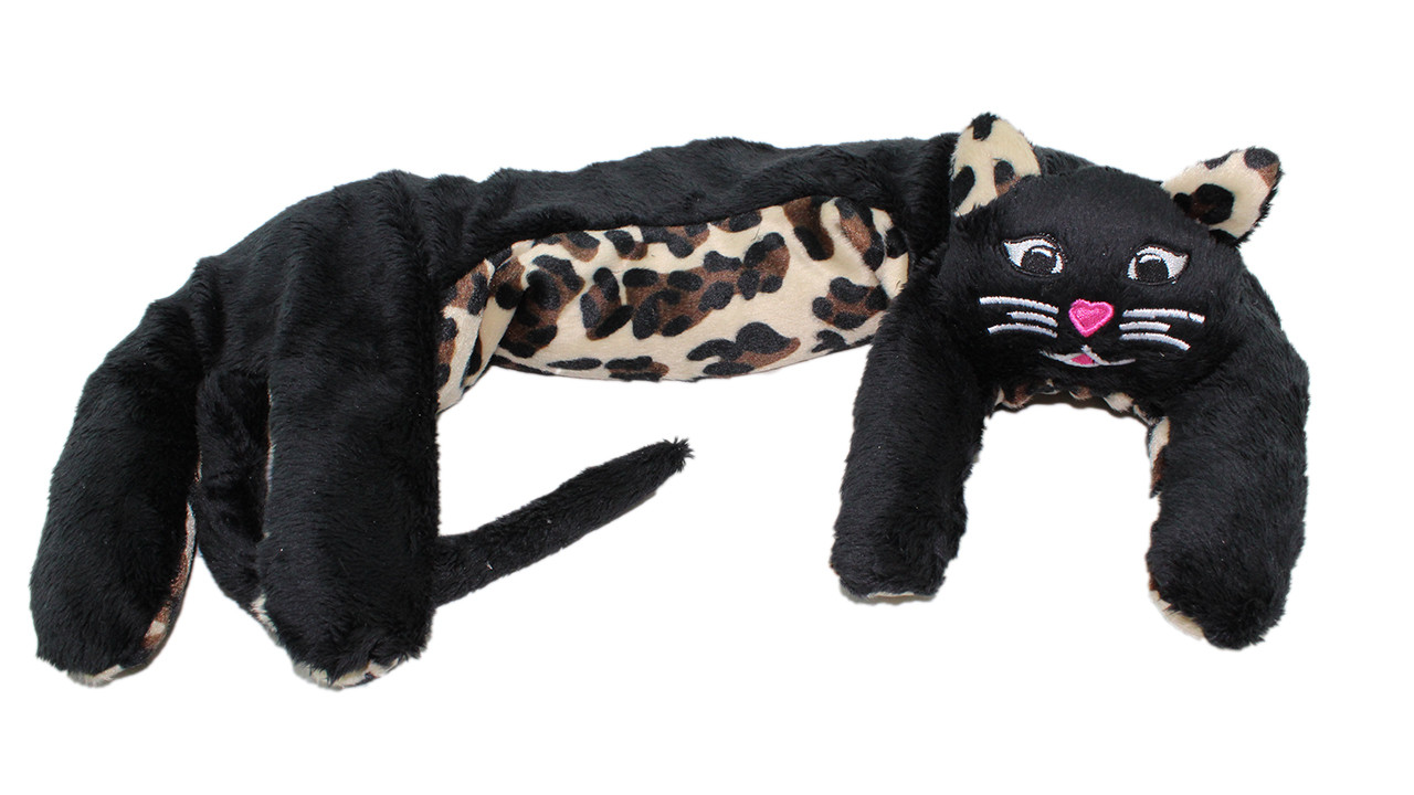 Kitty Kuddles - Black with Leopard Belly (shown) and Ears