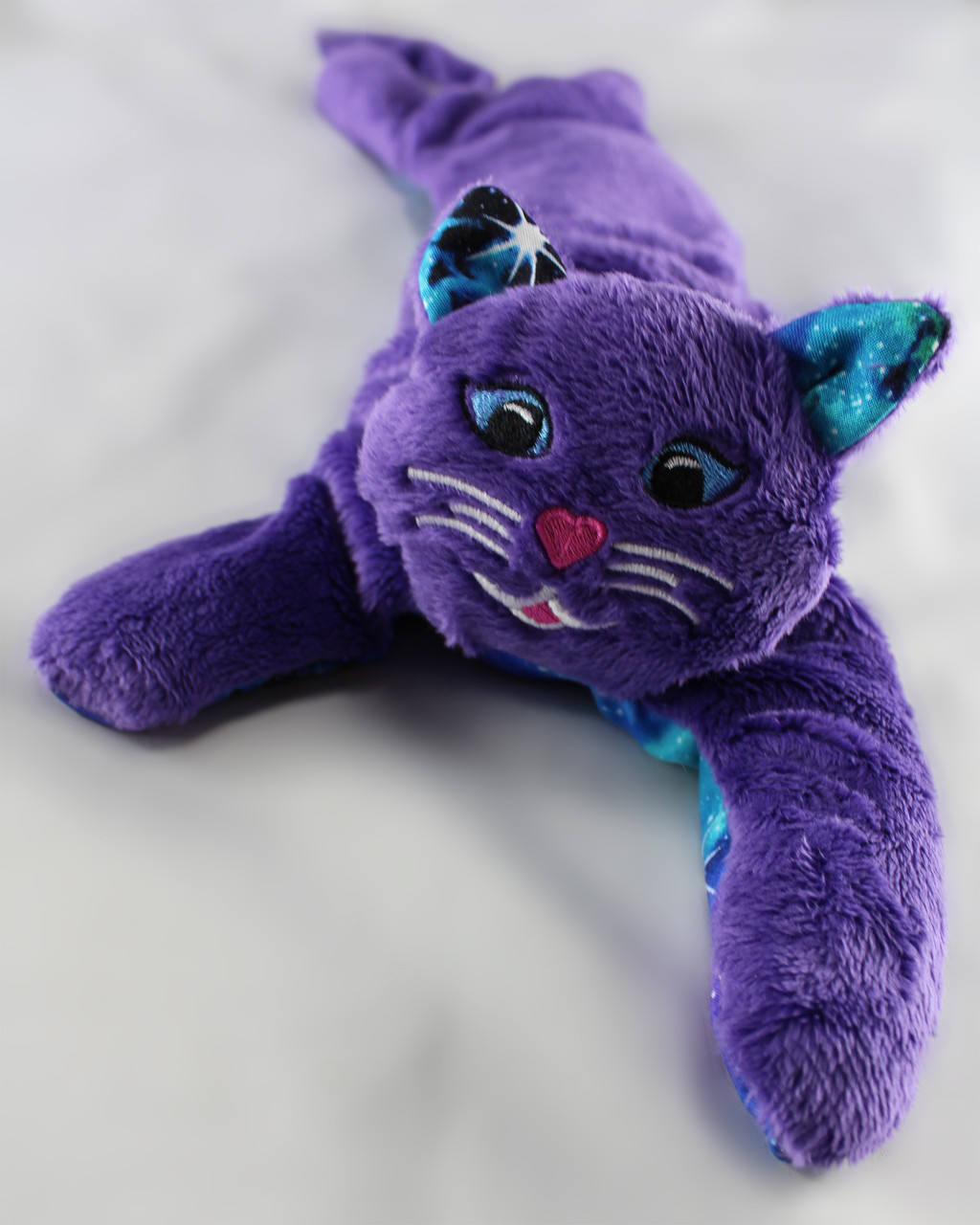 Kitty Kuddles - Purple with Galaxy Belly and Ears