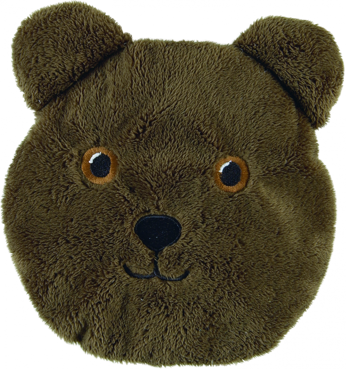 Brown Fluff Teddy Pack Eyes Opened - Heatable, Washable
