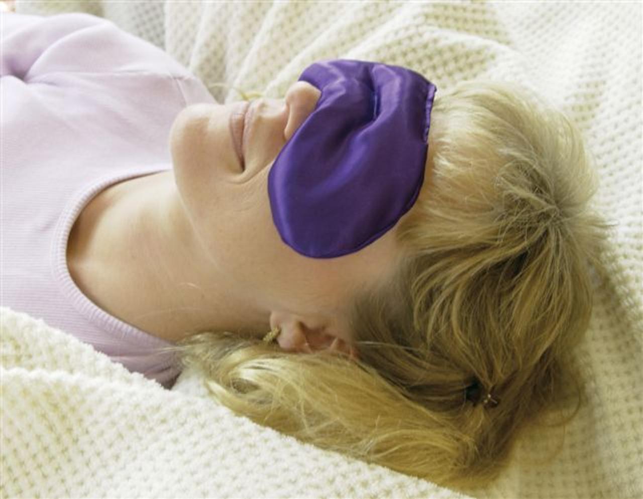 Eye Sinus Pack - Sleep Mask, Eye Wrap, & Sinus Pac for Headache Relief & Sleep Aid