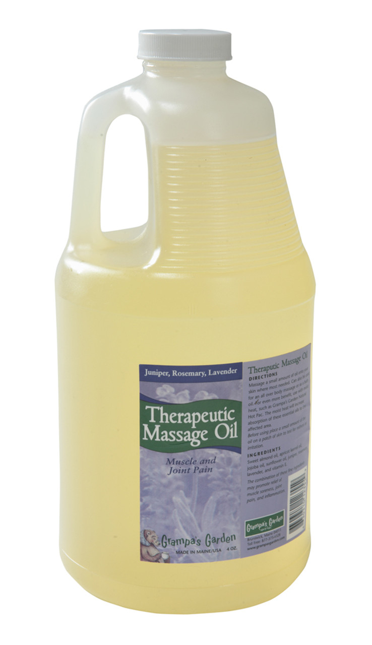 Therapeutic Massage Oil Provides Effective Therapy to Sore Muscles and Joints while Helping to Reduce Inflammation