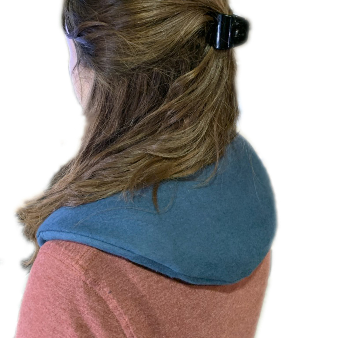 Thera Pac with removable organic fleece cover in Navy (shown) or Lavender