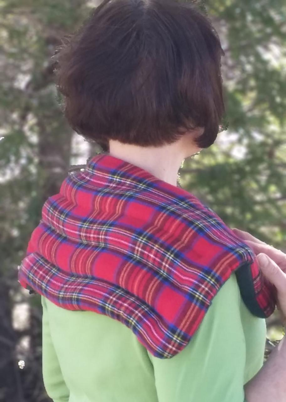 Supreme Upper Back and Shoulder Wrap Royal Stewart Flannel Finish