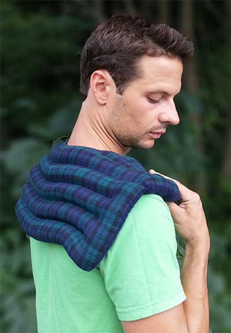 Supreme Upper Back and Shoulder Wrap Solid Flannel Back Finish