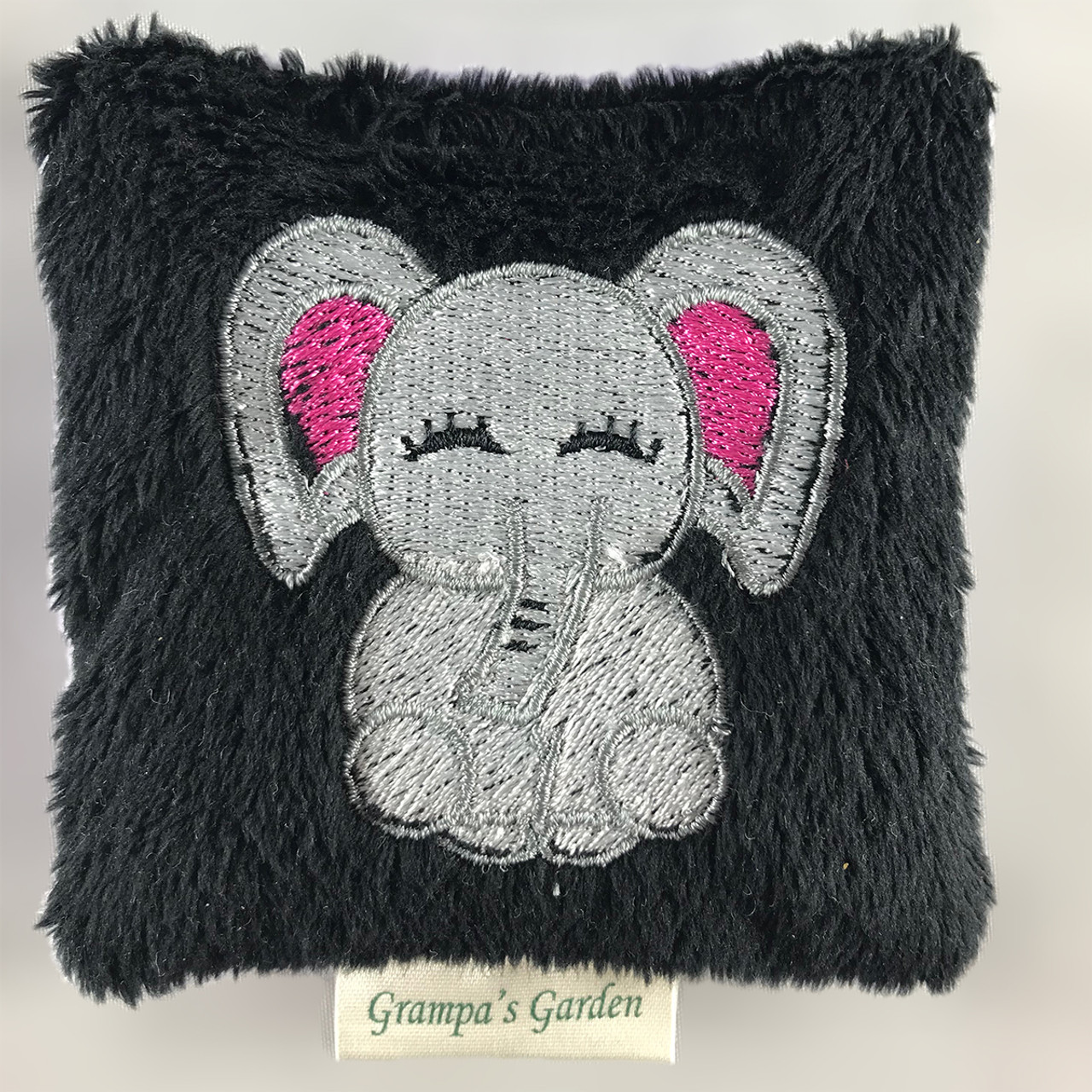 Elephant Fidget Pocket Pet Toy Scented Sensory, Stress, Fidget Toy from Grampa's Garden Made in Maine USA