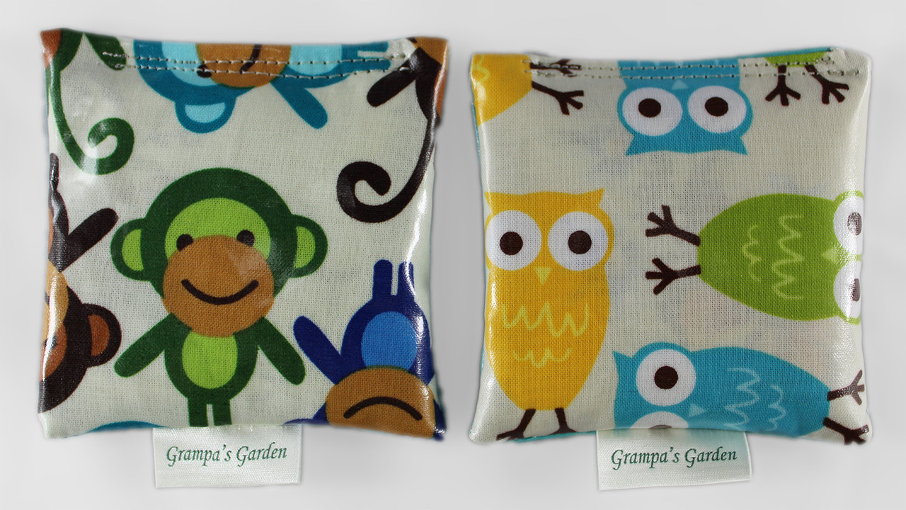 Monkey Fidget Pocket Pets Scented Sensory, Stress, Fidget Toy from Grampa's Garden Made in Maine USA