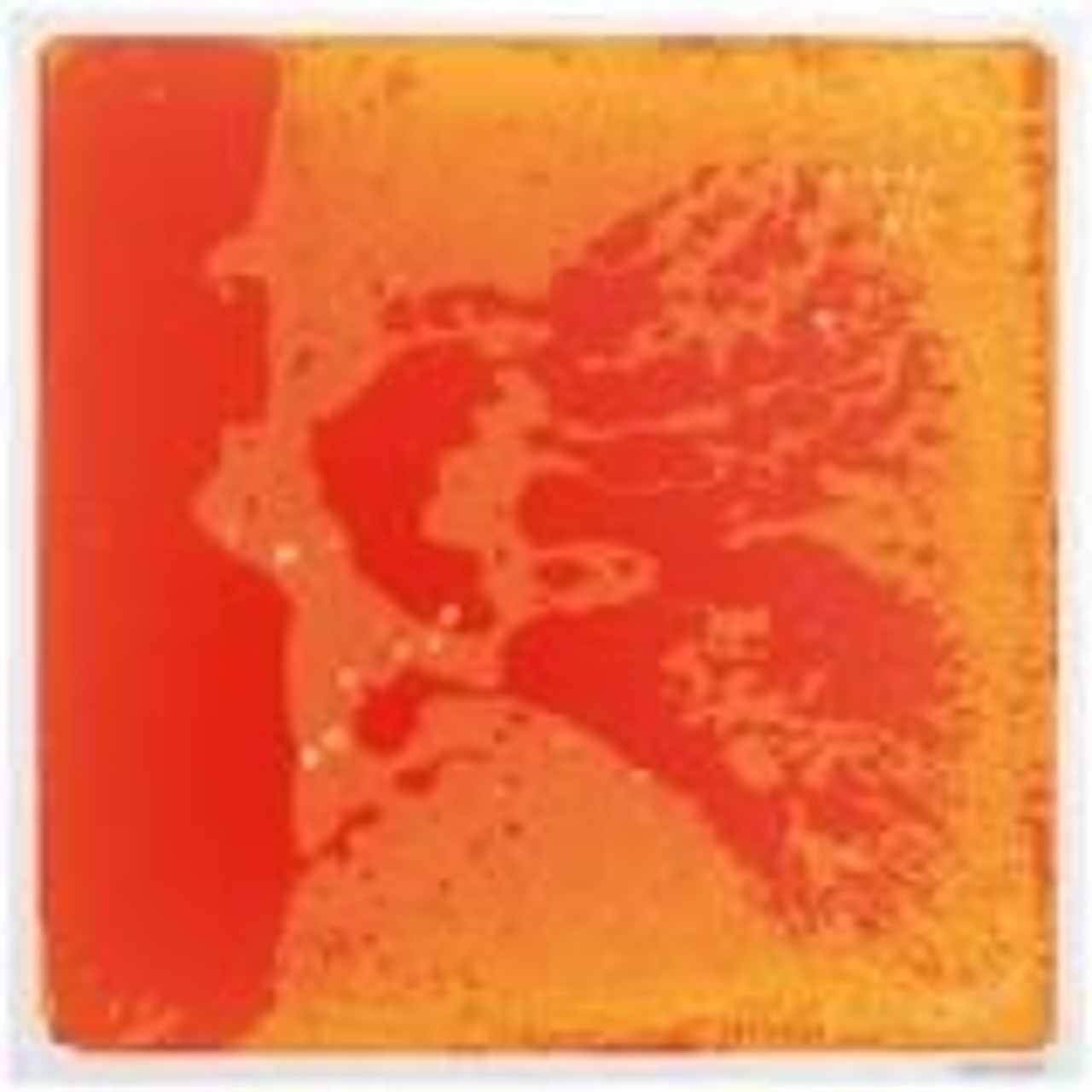 Orange Sensory Floor Tiles - Liquid Filled