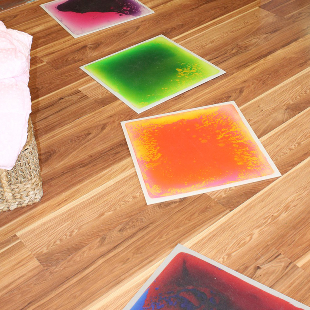 Sensory Tiles - Liquid-Filled Floor Tiles
