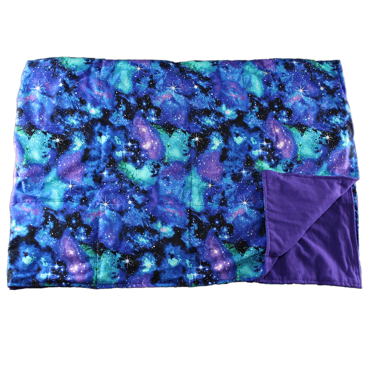 10 LB Weighted Blanket – Galaxy - Washable - OUTLET SALE