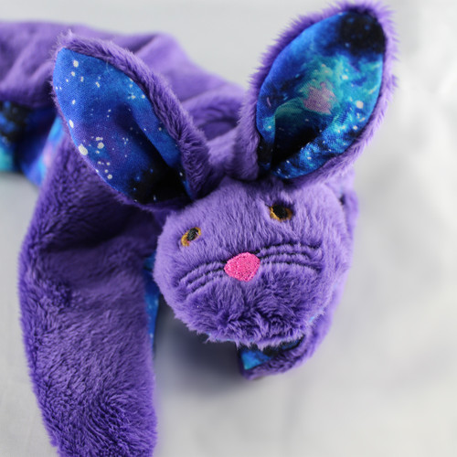 Purple & Galaxy Hot or Cold Bunny Wrap - Microwave or Freeze