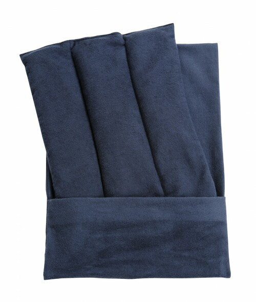 Lumbar Pack is Designed for Use on the Upper, Mid, or Lower Back and Hips - Navy Fabric